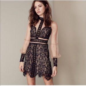 Rare For Love and Lemons Vivian Lace Dress S EUC